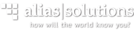 alias|solutions Logo